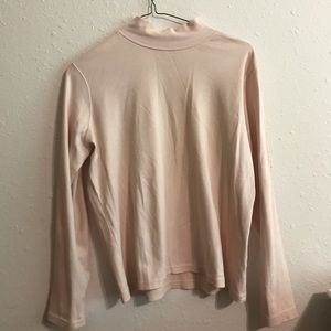 Tops - Light pink turtle neck